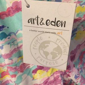 Art & Eden Bottoms - Art & Eden Organic Knit Pants Leggings
